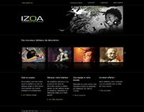 Izoa oSCommerce website design - Wall Posters Store