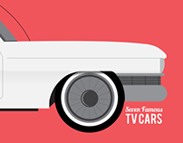 The seven famous TV cars