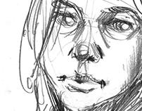 sketch of a friend 2