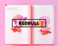 Red Bull Magazine Illustrations