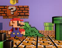 Pixel Art : Mario