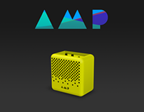 AMP, your first guitar amplifier.