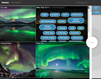 Twitcher | Adobe XD intern project