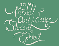 Annual Student Exhibit Poster