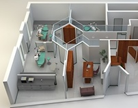 3D rendering for a medical office