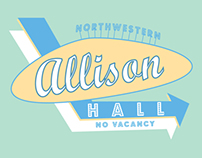 Allison Hall T-shirt Design