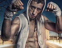 Thai Boxer in Paris
