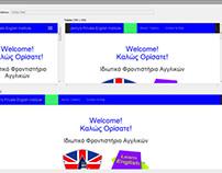 Jenny's Private English Institute Web Site