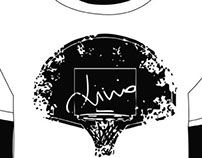 Tshirt and logo design for a commemorative basket playe
