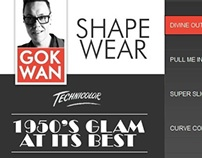 SIMPLYBE.CO.UK GOK WAN Campaign website designs