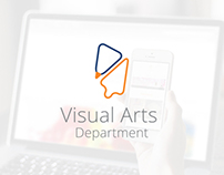 Cal States Fullerton Art Department Rebrand