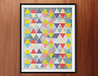 Psychedelic Triangles – Poster
