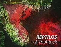 """Reptilos """"+6 To Attack"""" - Cover"""