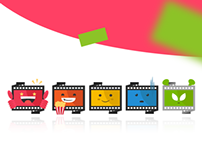 Movie Club Movie Rating Icons