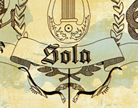 Sola-Nero Wine Labels