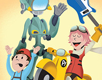 FLCL Little Golden Book
