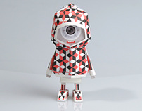 [ LA SARDINA - Cubic ] Paper toy of Boogiehood