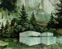 Bon Iver Album Art for Calgary Single
