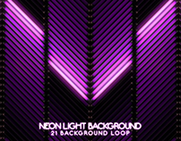 Neon Light VJ Video Backgrounds