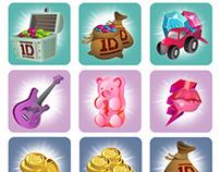 1D APP icon design