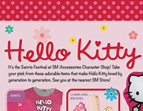 Hello Kitty Magazine Advertorial