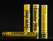 Calendar-confetti - Carpe diem - 2014