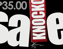 Knockout Sale Poster for SM Accessories'
