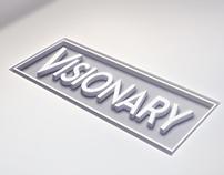 """VISIONARY"" Rental Corporate Identity"