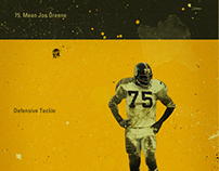 NFL's Greatest Defenses - 1970's Pittsburgh Steelers