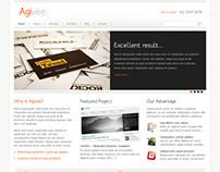 Agivee - Corporate Business Wordpress Theme