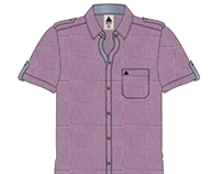 Men's Half Sleeve Casual Shirt