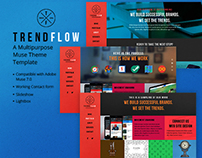 TrendFlow - A Multipurpose Muse Theme