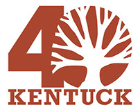 Kentuck 40th Anniversary Logo