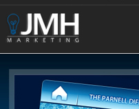 JMH Marketing website Redesign