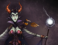 Steampunk Maleficent