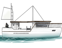 Recreational Fishing Yacht - Functional project