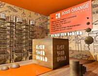 BOSS ORANGE by Hugo Boss - POP materials