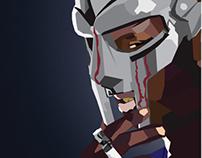 Operation Doomsday - MF DOOM WPAP poster