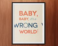 Worng World – Poster