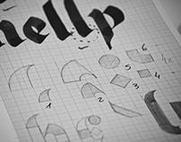 Neogothic, my first modular typeface