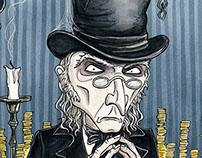 A Christmas Carol - Scrooge and Bob Cratchit