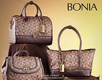 [Chụp Ảnh Sản Phẩm] [Product Photography] BONIA bags