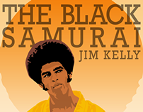 Tha Black Samurai. Jim Kelly.