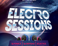 Electro Sessions Flyer