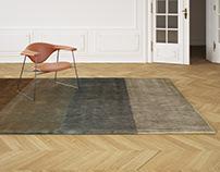 Ligne Roset Vibration carpet - 3d model