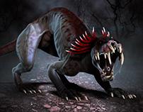 Chupacabra - ZBrush Creature Design
