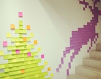 Post-it Christmas