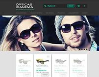 Opticas Ipanema - E-commerce