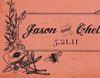 Jason & Chelsea wedding invites