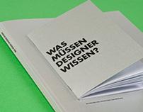 Was müssen Designer wissen?